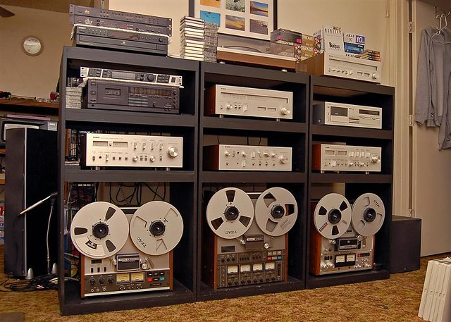 My Vintage Stereo System Andy Flickr