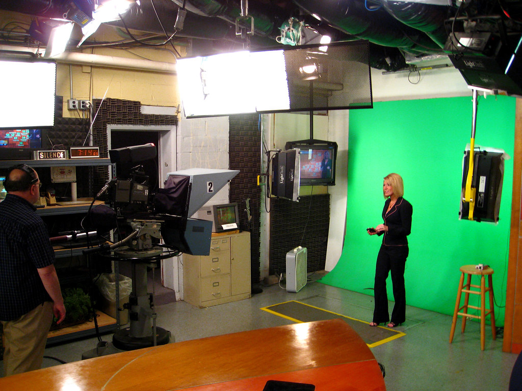 Green Screen for Weather Forecast | Frank Gruber | Flickr