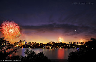 Sydney New Years Eve Fireworks 2008 (#1) | by Christopher Chan
