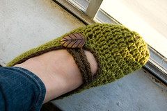 crocheted mary janes | by Lisa | goodknits