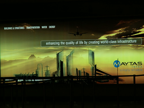 MAYTAM Advertisement at New Bangalore International Airport | by Ravi Dixit