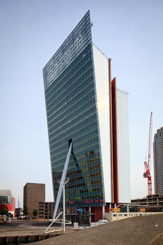 Holland And Holland >> Edifício 'KPN Telecom', Rotterdam, Holanda | Edifício ...