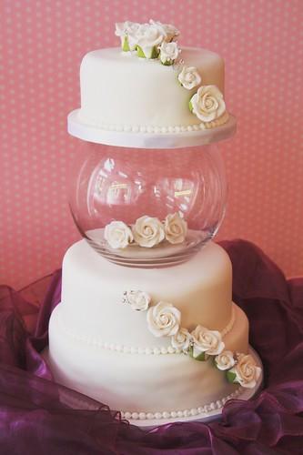 Fish Bowl Wedding Cake