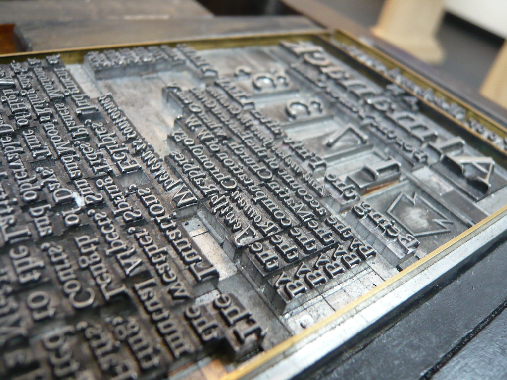 3d Metal Printing >> The Original Movable Type | Long before tags, div breaks and… | Flickr