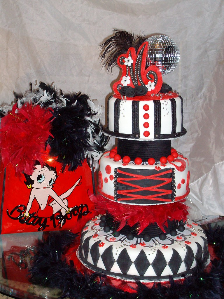 Betty Boop Cake Fabuluos Misty Rouse Flickr