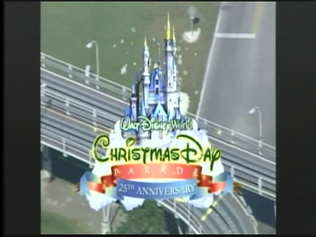 logo walt disney world christmas day parade special 2008 Disneyland 45th Anniversary 25th Anniversary Disneyland Characters