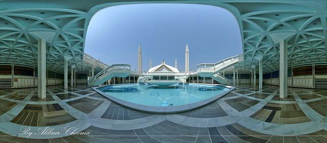 Faisal Masjid Pakistan inside 360 Panorama   Faisal Masjid ...