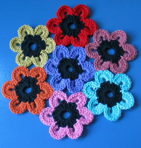 Crochet Pattern Central Flowers ~ Dancox for .