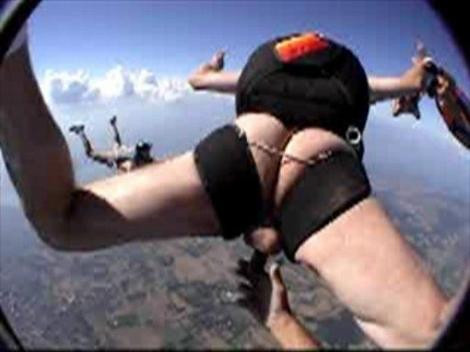 Naked Man Skydiving 56