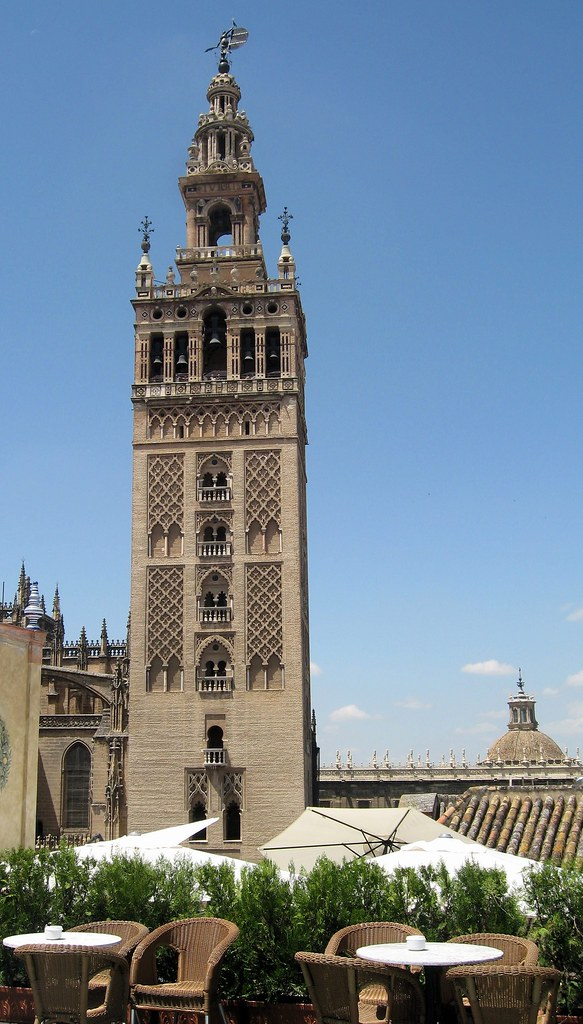 Giralda Tower  The view of the Giralda Bell Tower from ...
