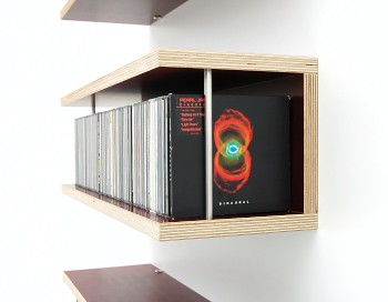 cd regal storit cd rack wall mountable cd rack for up to flickr. Black Bedroom Furniture Sets. Home Design Ideas