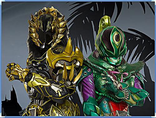 獣拳戦隊ゲキレンジャー.. Black Lion // Power Rangers - Jungle Fury ...