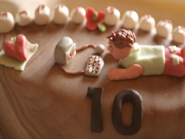 Zum 10ten Geburtstag Blume S Susser Quatsch Flickr