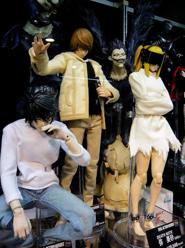 L, Light/Kira, Ryuk, Misa (from Death Note) | Yamashiroya ...