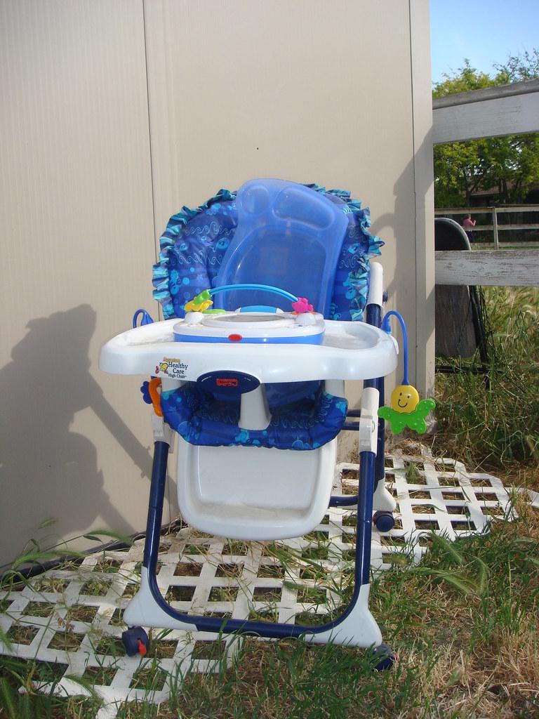 DSC01225 Fisher Price Aquarium Healthy Care High Chair
