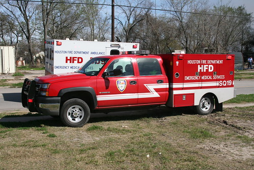 Houston Texas Fire Department Paramedic Squad 19 Chevy Fr Flickr