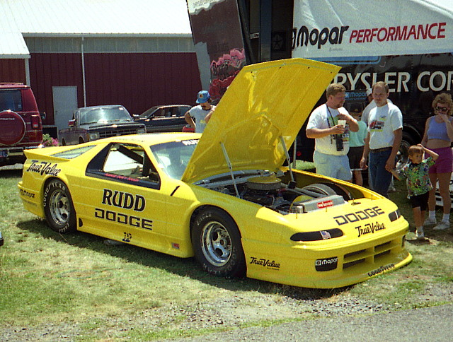 1993 Dodge Daytona IROC Stock Car | Chryslers at Carlisle ...