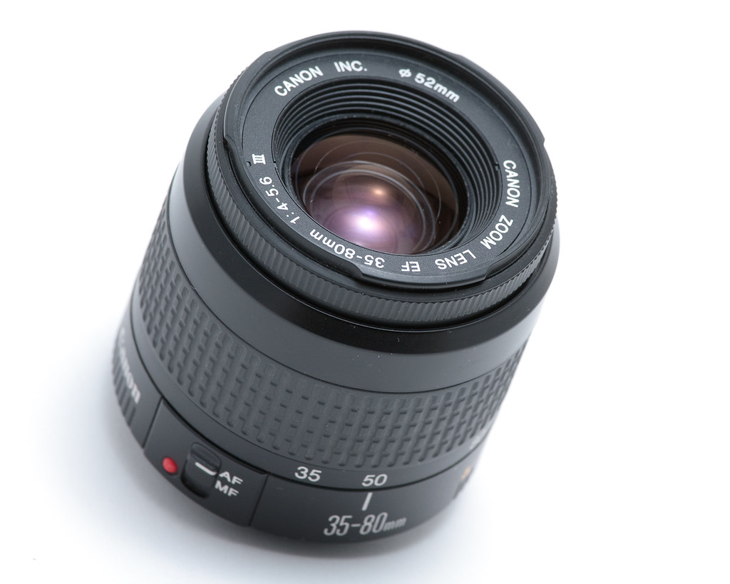 Canon Zoom Lens ef 35-80mm Canon ef 35-80mm F/4-5.6