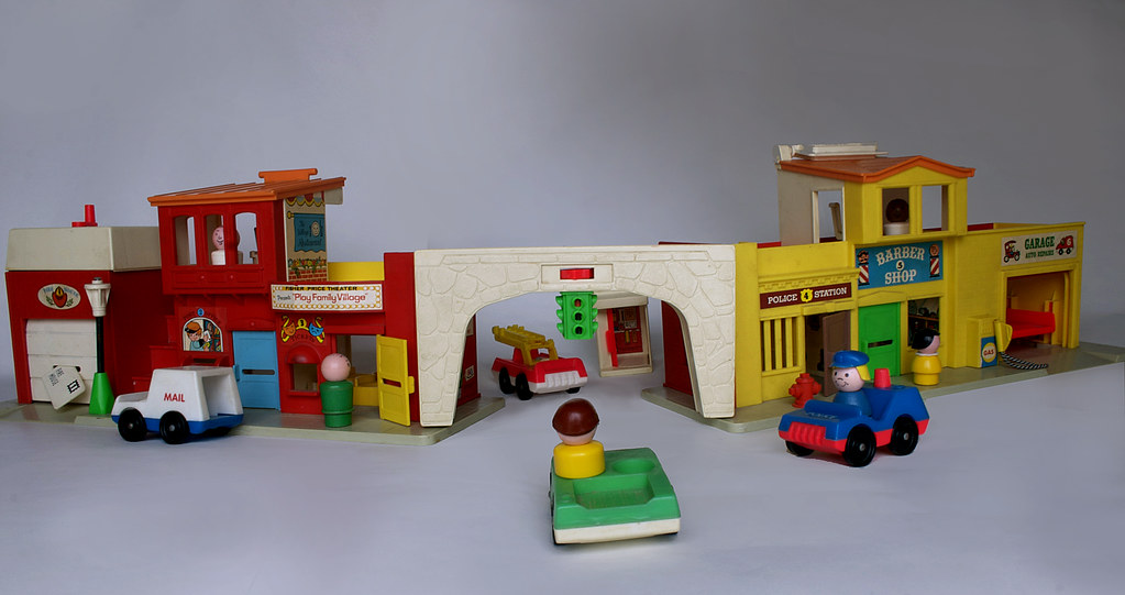 Fisher-Price City | Old Fisher-Price Toys from my childhood.… | Flickr