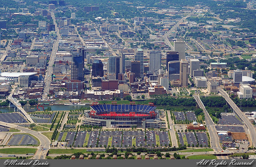Downtown Nashville Aerial Flickr Photo Sharing