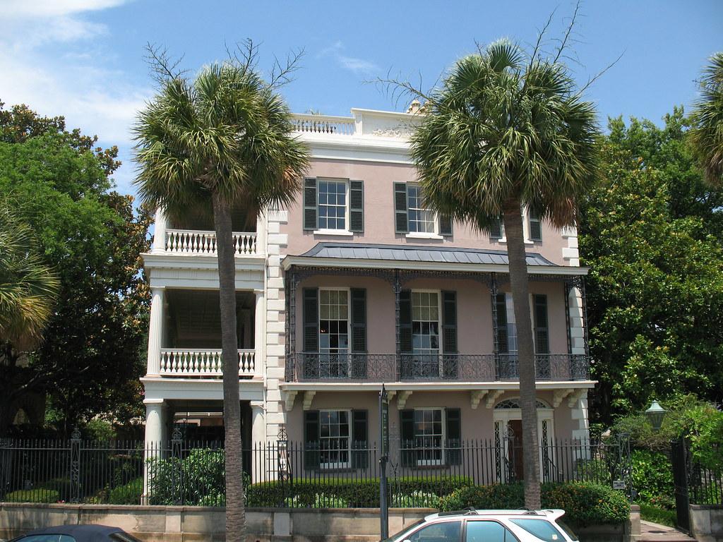 Charleston historic homes 21 east battery charleston sc for Home goods charleston sc