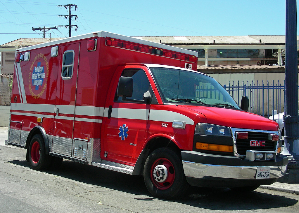 Gmc Ambulance San Diego Fire Rescue Ambulance Operated
