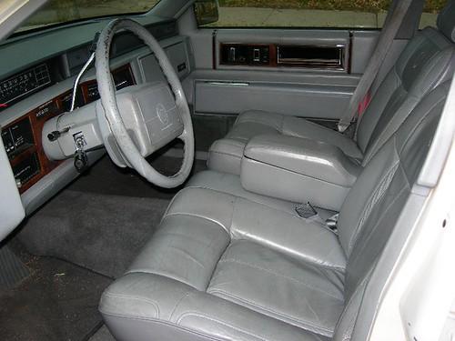 1991 Cadillac Deville White W Grey Interior Flickr Photo Sharing
