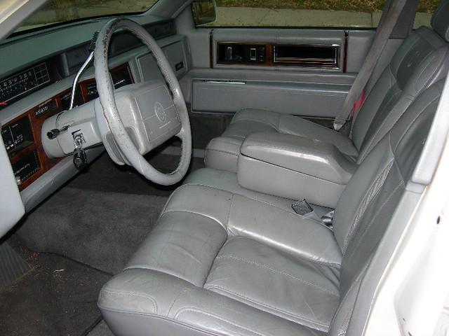 1991 Cadillac Deville White W Grey Interior This Good