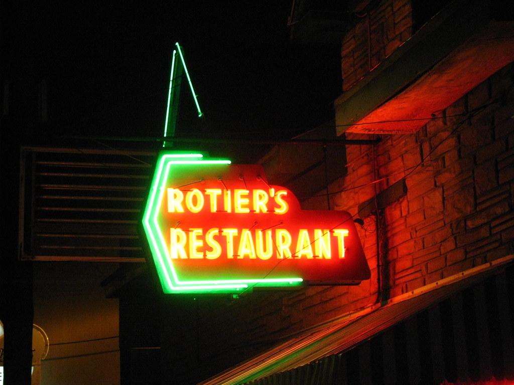 Rotier S Restaurant New Hours