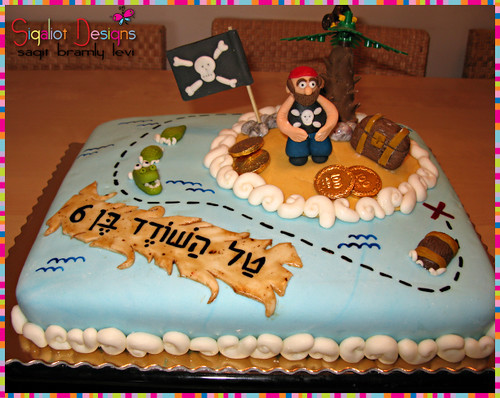 Birthday cake for my son the pirate :-) Sagit Flickr
