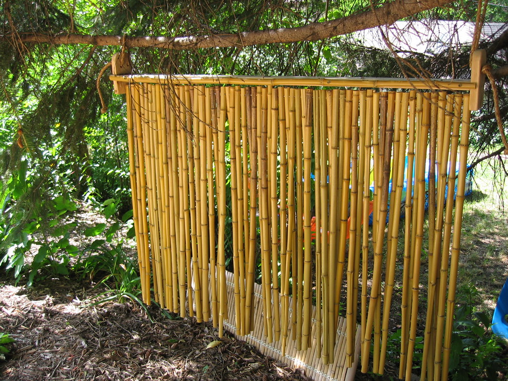 Bamboo Screen Field Outdoor Spaces Flickr