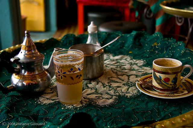 Moroccan tea, Moroccan coffee