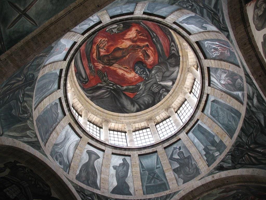 Mural de jos clemente orozco guadalajara jal el for El mural guadalajara jalisco