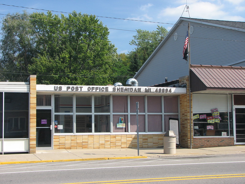 Foyer Office Zip Code : Sheridan michigan post office zip code