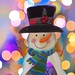 Snowman Bokeh  © Glenn E Waters   (Explored). Over 19,500 visits to this photo.