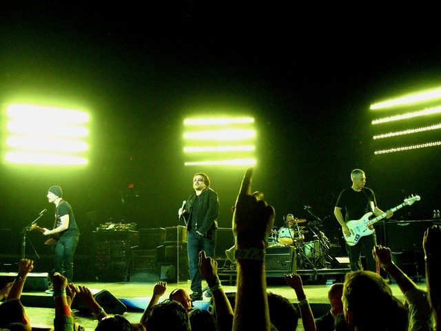 U2, Live @ Madison Square Garden, New York City | I was luck… | Flickr