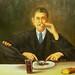 Magritte, Rene (1898-1967) - Self Portrait as the Sorcerer