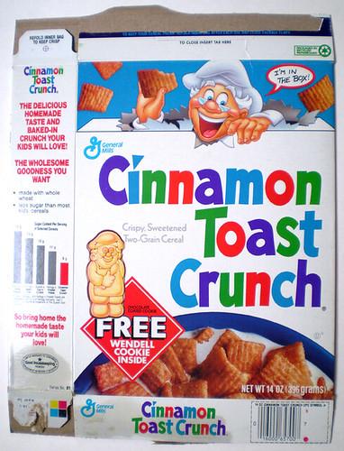 ... General Mills Cinnamon Toast Crunch Wendell Cookie | by gregg_koenig