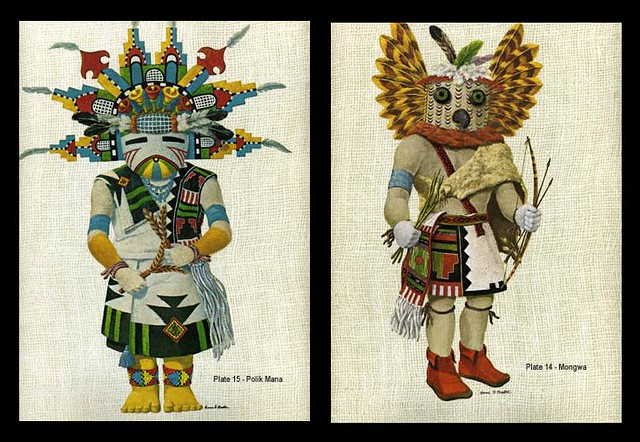 Native American Kachina Dolls Coloring Pages