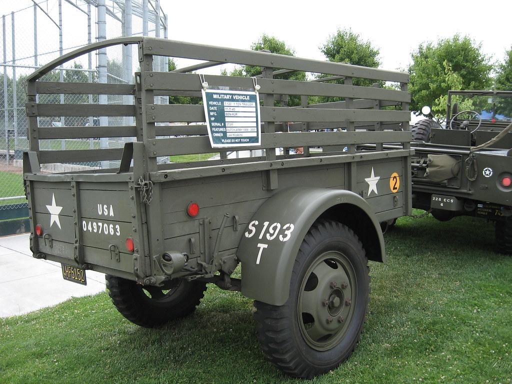 1943 Ben-Hur Army Trailer