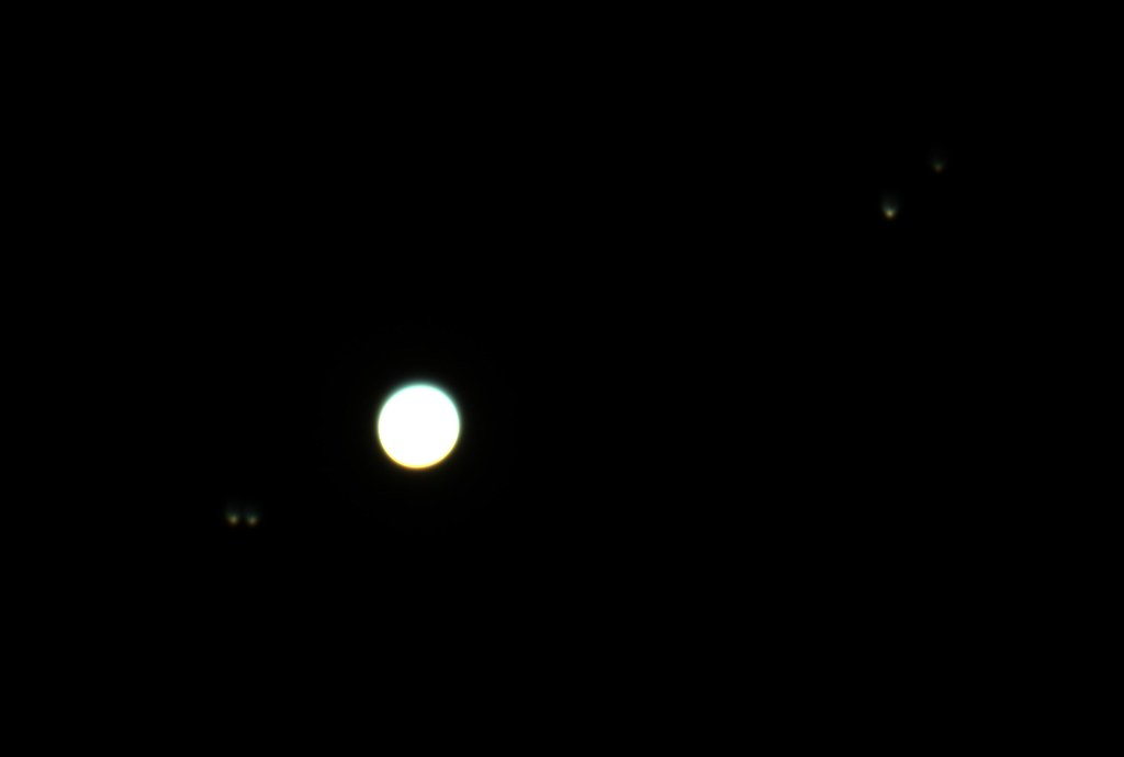 jupiter and its moons with white back - photo #21