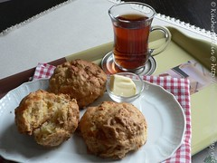 Apple Cheddar Scones 002