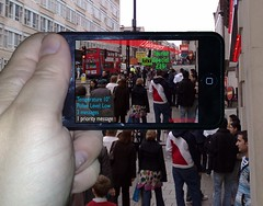 Handheld Augmented Reality | by Jamais Cascio