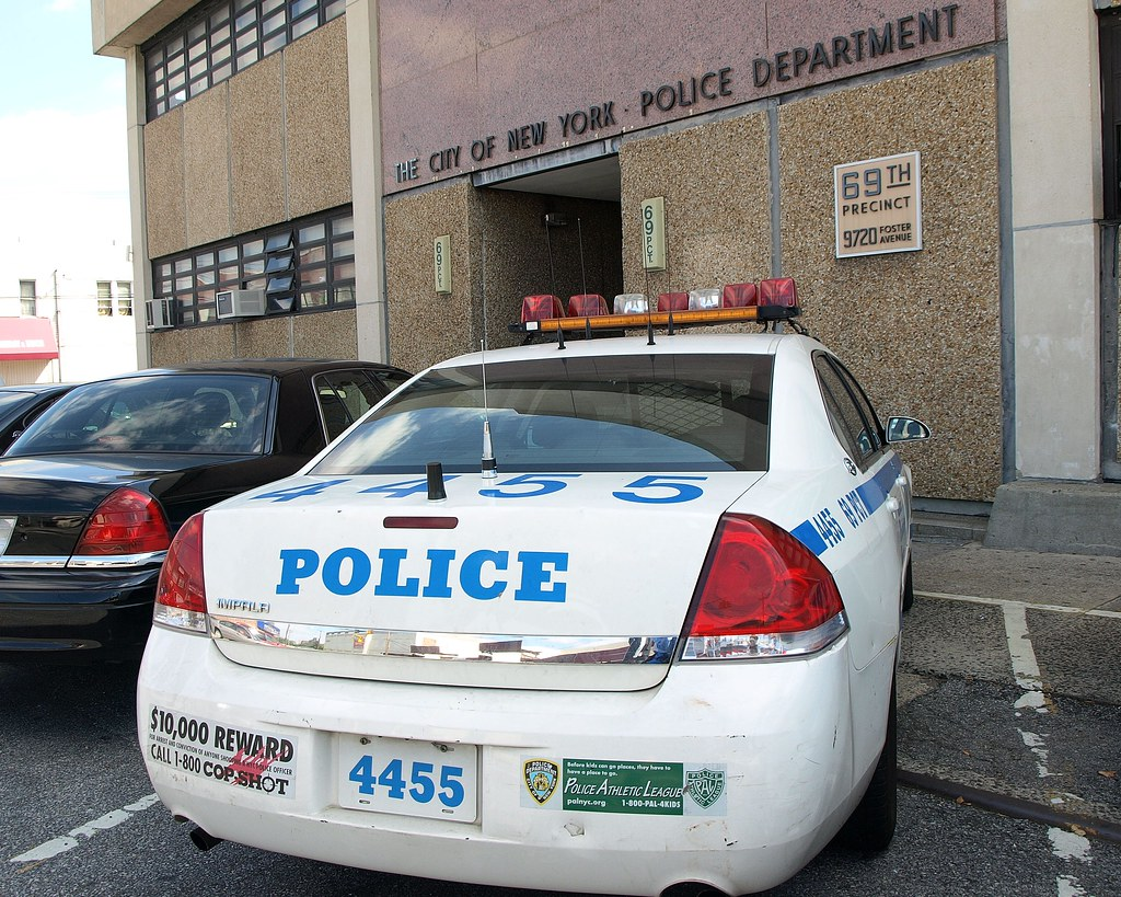 P069 Nypd Police Station Precinct 69 Canarsie Brooklyn
