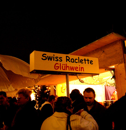 Raclette and Glühwein sign | by maki