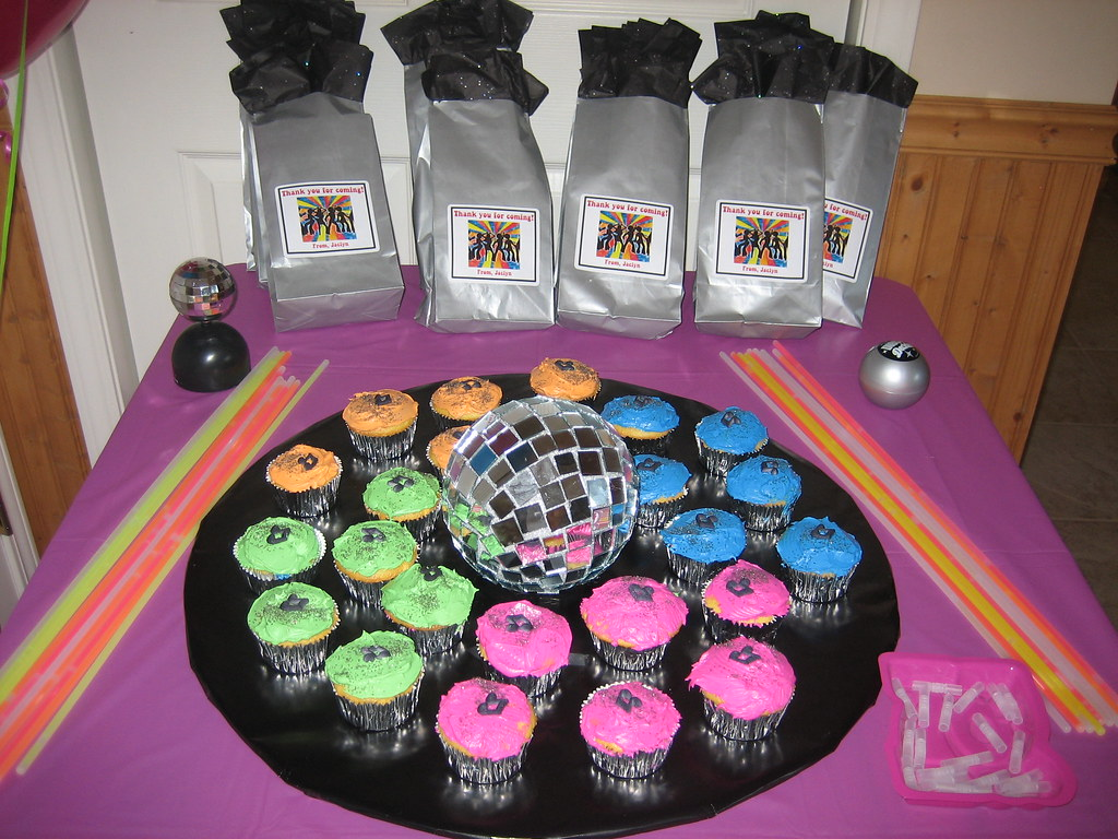 Disco Party Cake Toppers