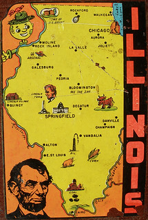 Illinois Decal | by eggchairsteve