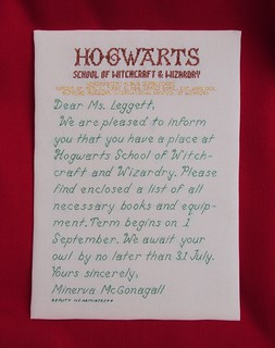 hogwarts acceptance letter | by crafty & devious