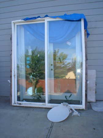 Viking Sliding Door 6foot By 8 Foot Sliding Patio Door W
