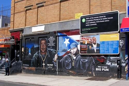 Mad mark big pun tats cru graffiti mural south bronx for Big pun mural bronx
